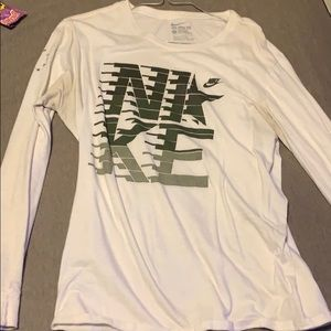 Used camo nike long sleeve